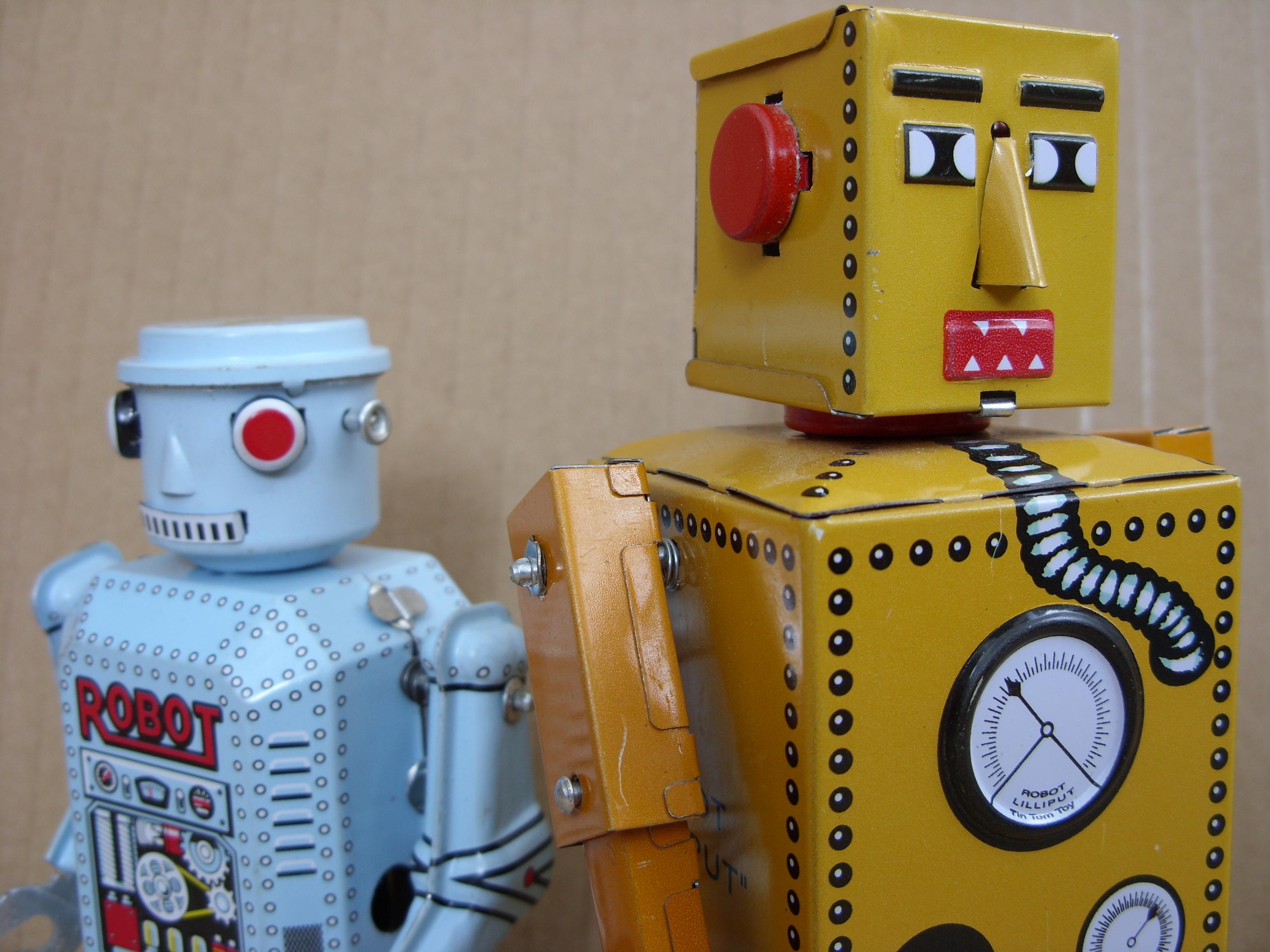 Первый робот своими руками